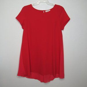 Umgee Short Sleeve A-Line Dress